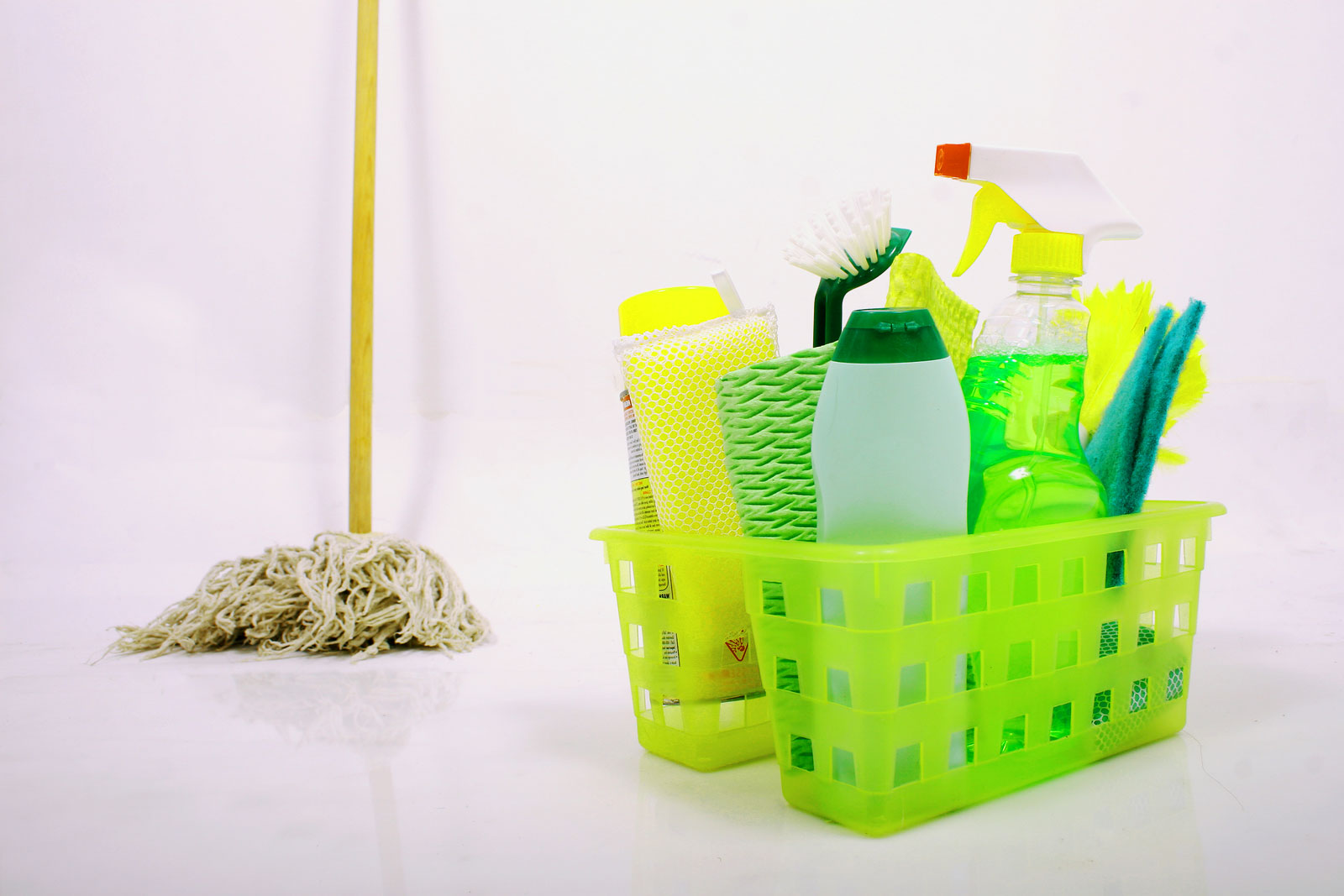 mop-and-chemicals-in-basket