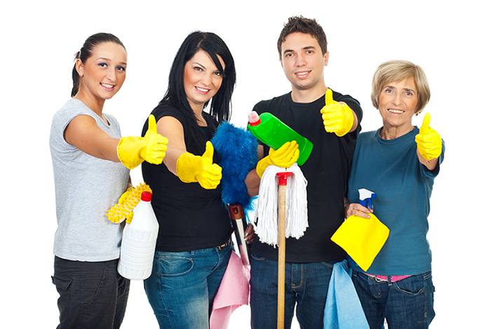 3-young-cleaners-and-old-woman